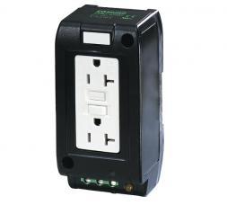 comoso product 67980 msvd power socket nema gfci. Black Bedroom Furniture Sets. Home Design Ideas