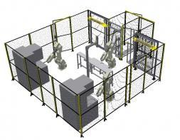 Comoso Product Machine Perimeter Guarding