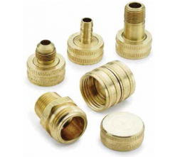 Brass Hose Thread Nipple 3//4 Parker 1163-61-BPD Garden Hose Fitting Hose Thread