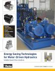 Energy Saving Technologies for Motor-Driven Hydraulics