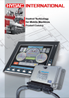 Hydac Control Technology for Mobile Machines Catalog