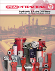 Hydac Hydraulic & Lube Oil Filter Catalog