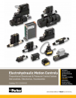Parker Electrohydraulic Motion Controls HY14-2550 Catalog